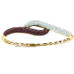Colored Diamond Bracelets