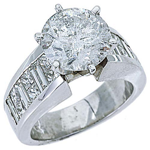 5 carat womens engagement ring princess