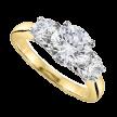 3-Stone Diamond Rings