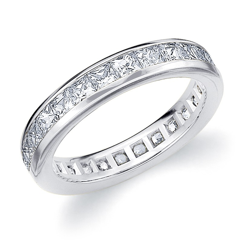 white gold once band square wedding a diamond round rings products cut upon